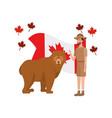bear forest anima and rangerl canada design
