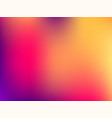 blurred mesh gradient background colorful smooth vector image