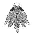 cherub sketch vector image vector image