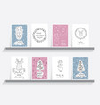 greeting card christmas vector image vector image