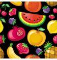 juicy fruit texture vector image vector image