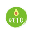 keto diet icon logo ketogenic approved sign