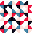 mid-century modern seamless pattern vector image vector image