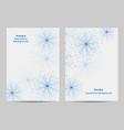 Modern brochure cover design