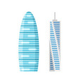 modern city skyscraper buildings isolated vector image vector image