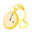 Pocket watch icon cartoon style vector image vector image