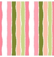 Seamless strip pattern Vertical lines with torn vector image vector image