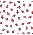 Sword Globe Flat Seamless Pattern vector image vector image