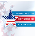 united states of america independence day vector image vector image