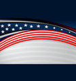 usa flag backgrounds design vector image vector image