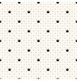 seamless crown retro pattern vector image