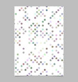abstract seamless dot pattern page template design vector image vector image