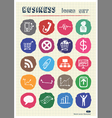 Business and media web icons set drawn by chalk vector | Price: 1 Credit (USD $1)