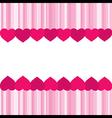 creative valentine greeting banner design vector image vector image