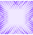 geometric background design in purple vector image