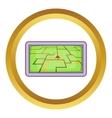 GPS navigation icon vector image vector image
