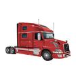 Volvo truck vector image