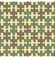 Puzzle seamless pattern vector image