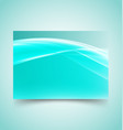 abstract waves set 5 vector image vector image