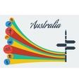 australia safari vector image vector image
