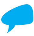 Isolated bubble chat vector image
