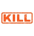Kill Rubber Stamp vector image vector image