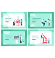 laboratory scientist research science chemistry vector image vector image