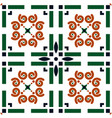 portuguese tile azulejo background vector image vector image