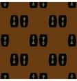 Seamless pattern of keeper woman of Ukrainian vector image
