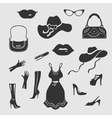 Women Things Symbol vector image
