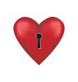 unlock me key to my heart vector image