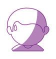 boy face cartoon vector image vector image