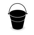 bucket vector image vector image