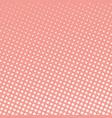 coral pop art background vector image