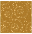 golden background with spiral - music seamless vector image vector image