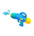icon water gun vector image