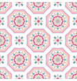 intricate mandala pattern tile background vector image vector image