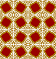 Kazakh pattern Traditional national background of vector image vector image