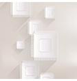Microchip web icon vector image vector image