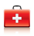 object first aid kit vector image