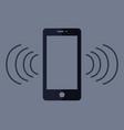 phone that rings vector image