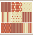red textures vector image vector image