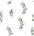 seamless leaves pattern design for banner poster vector image vector image