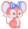 sweet mouse vector image