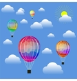 Colored Air Balloons vector image