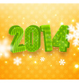 2014 Banner vector image