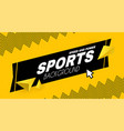 abstract sport background with motion triangle vector image