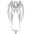 angel nimb vector image vector image