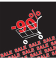 Big sale 90 percentage discount vector image vector image