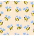 delicate pattern bee vector image
